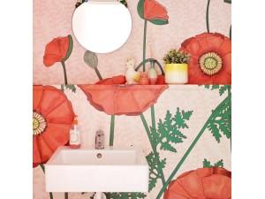 Mural Eijffinger Rice 2 Poppies 383609