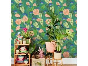 Mural Eijffinger Rice 2 Bindweed Flower 383605