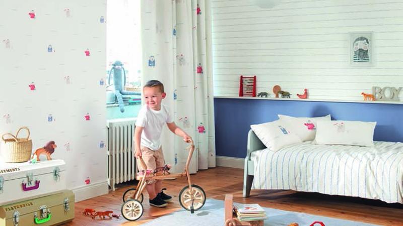 Telas y visillos infantiles de la colecci n my little for Visillos infantiles